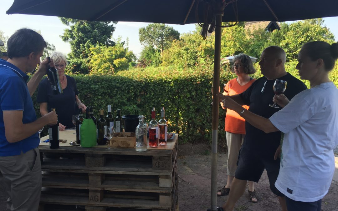Kom til garagesalg og få sikret sommerferiens vine