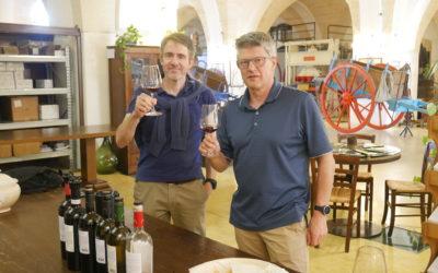 Nye vine på vej fra det sydlige Italien