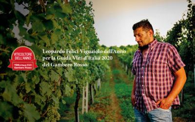 Leopardo Felici valgt som årets winemaker af Gambero Rosso